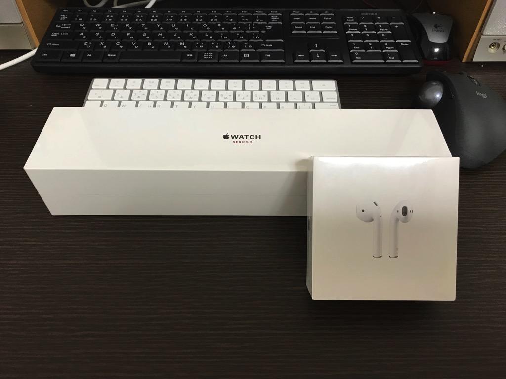 アップルウォッチとPodsAirを購入