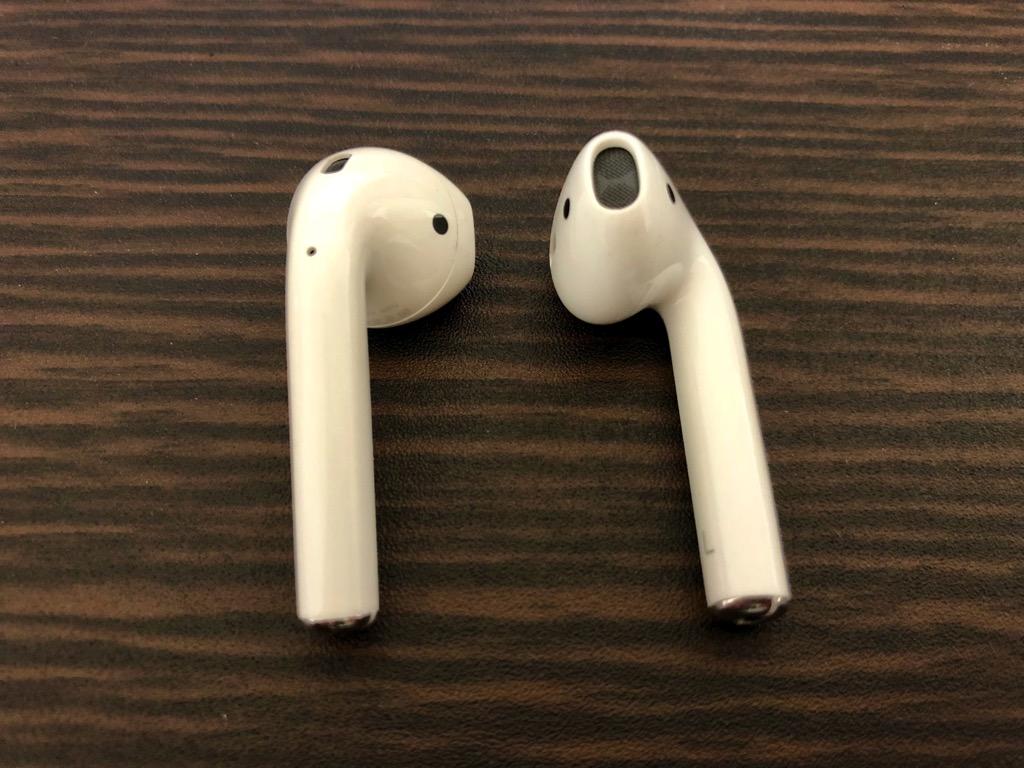 Apple純正イヤホンの形状