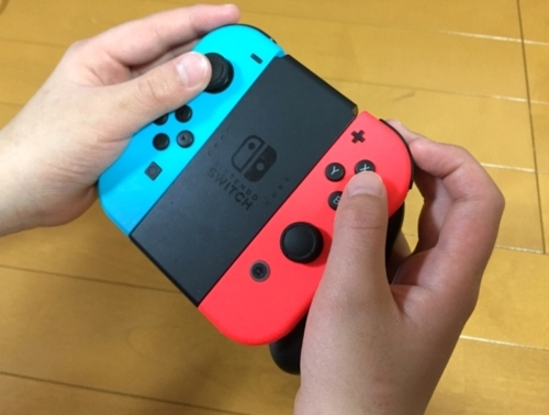 NintendoSwitch充電グリップ
