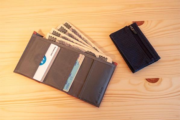mont-bell トレールワレット 薄い財布